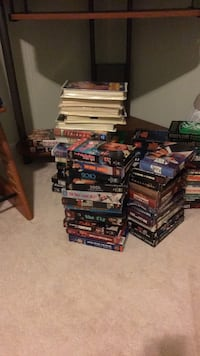 big stack of vhs movies (about 25 or so) Arlington, 22213