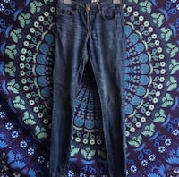 Size 5 High Waisted Garage Jeans