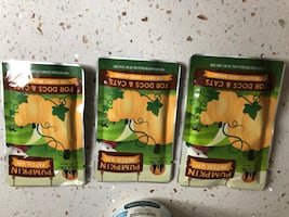 PUMPKIN for dogs n cats $10.00 for all
