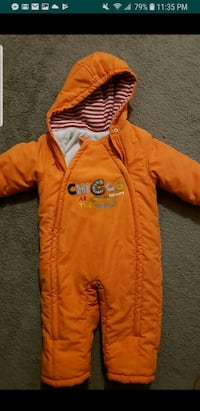 orange and red zip-up hoodie 12 months  Hyattsville, 20782