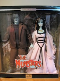 Barbie doll set the Munsters collector Niagara Falls, L2H 1X3