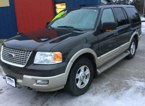 *THIRD ROW* *CLEAN CARFAX* 2006 Ford Expedition 4dr Eddie Bauer 4WD -- Ask About Our Guaranteed Cred 630843d6-a29e-4dd2-83ce-3ef336b565ff