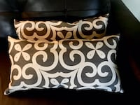 Pair of Gray and Ivory Pillows Opelousas, 70570