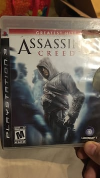 Assassins creed ps3 video game