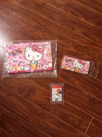 Brand New Hello Kitty Zipper Bags&Card Holder  Markham