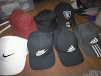 6 mint hats 20$ea or all 6 for 80$ Kelowna, V1Y 1S1