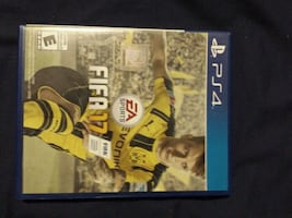 Fifa 17 with box and manual
