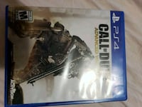 PS4 game Call of duty Advance Warfare Winnipeg, R2X 2J5