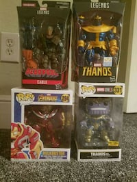 Funko pops thanos . Walmart exc legend thanos Celina, 75009