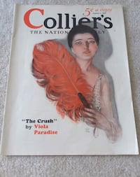 Vintage Colliers magazine- collectible issue January 1, 1927 Santa Fe, 87508
