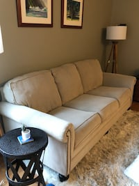 Tan fabric 3-seat couch/sofa in excellent condition. Minneapolis, 55455
