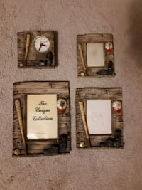 Boys Baseball picture frames and clock decor Brampton, L6Y 0K1