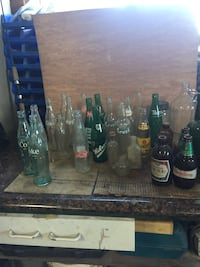 Vintage Beer & Pop Bottles Wilmot, N3A