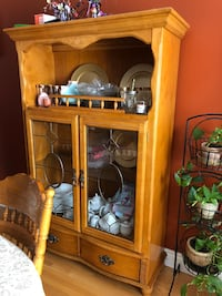 brown wooden cabinet with mirror Montréal, H1K