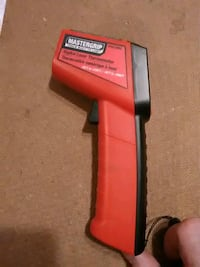 Mastergrip digital laser thermometer