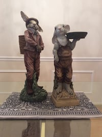 ceramic figurines 20 inches tall Fort Myers