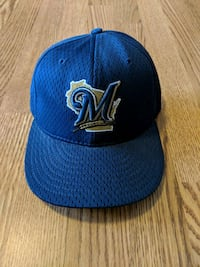 Brewers new era 59fifty hat 7 Rindge, 03461
