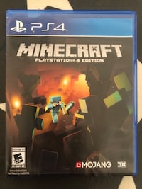 Minecraft PS4 San Francisco, 94133