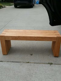 wooden bench Stow, 44224