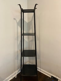 Crate and Barrel Iron Shelves (2)