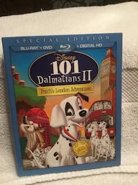 Brand new, unopened disney 101 dalmations 2, patch's london adventure, special edition North Richland Hills, 76182