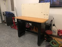 Craftsman workbench and wall cabinet Dumfries, 22026