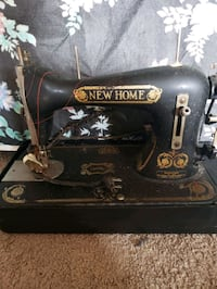 antique new home sewing machine Plattsmouth, 68048