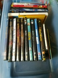 15 assorted movies  Spring, 77381