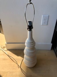Crate and Barrel Lamp Base Los Angeles, 90028