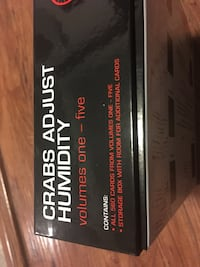 Crabs adjust humidity game volumes 1-5. Only used once. Edmonton, T5R 1M8