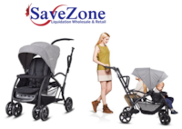 New- Costway Baby Sit and Stand Ultra Tandem Stroller Pushchair Double Kids Gray Mississauga