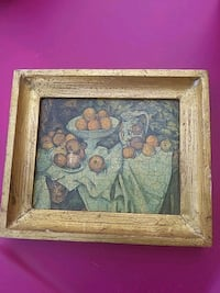 "Paul Cezanne ""Apples and Oranges"" painting #8901 Peyton, 80831"