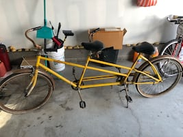 2 seater classic bicycle.
