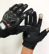New $10 per pair Motorcycle Screen Touch Anti Slide Full Finger Gloves 3 Sizes (M, L, XL) South El Monte
