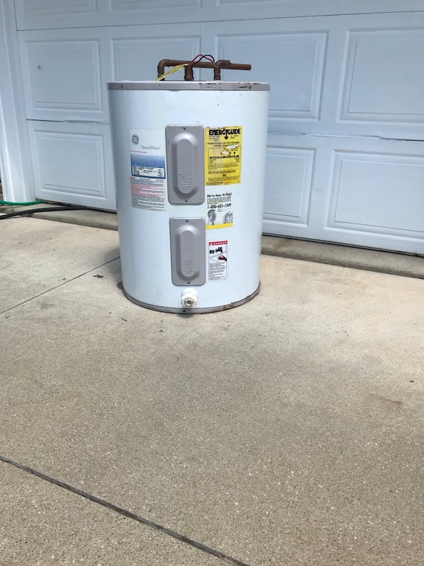 Electric Hot Water Heater >> Electric Hot Water Heater 47 Gallons