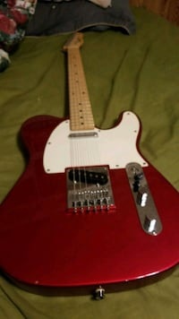 red and white electric guitar El Paso, 79935