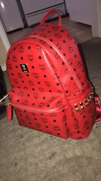 pink MCM leather backpack with studs Los Angeles, 90008