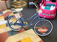 "New 24"" Huffy Periwinkle Cranbrook Beach Cruiser"