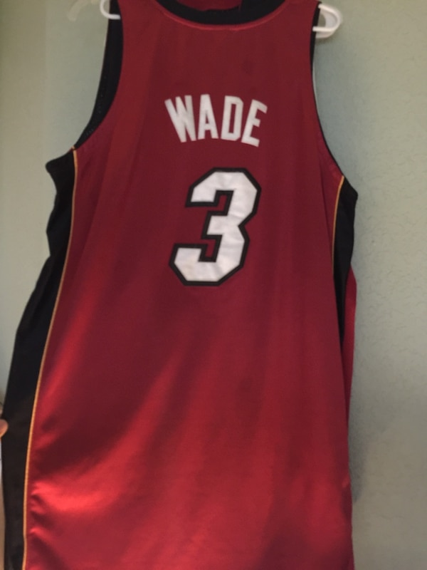 buy online 96a38 a494a Authentic Dwayne Wade Miami Heat Jersey 3 Vintage