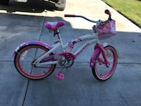 white and pink BMX bike Lancaster, 93536