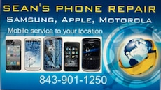Phone and tablet repairs