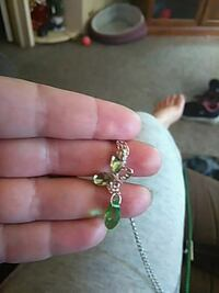 Green Butterfly Necklace Burlington, 52601