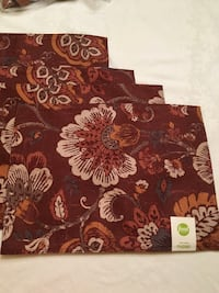 4 Placemats NEW Floral Food Network Columbia, 17512