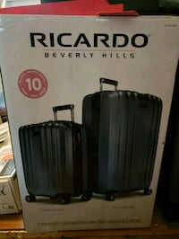 back Ricardo travel luggage box 1205 mi