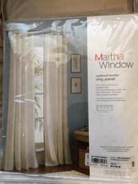 "Martha Window Pair of 84"" Caldwell Border Ring Panel Mesa, 85203"
