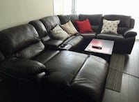 Marco (Cindy Crawford home collection) 5-Piece Sectional with Left-Facing Inclining Chaise Whitby, L1N 6V1