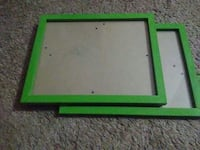 2 green picture frames Bourbonnais, 60914