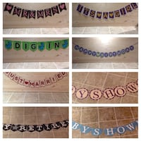 Personalized party favors (Event Banners) Hamilton