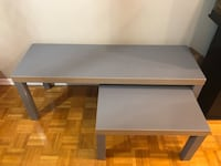 Grey coffee table  Markham, L3T 3Z8