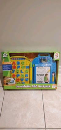 Go With Me ABC Backpack from LEAP FROG  Vaughan, L4L 1A6